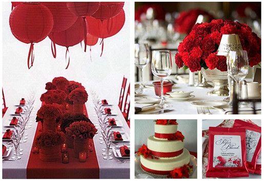 Tema Matrimonio In Rosso : Il claim del matrimonio cosa e come scegliere tra mille