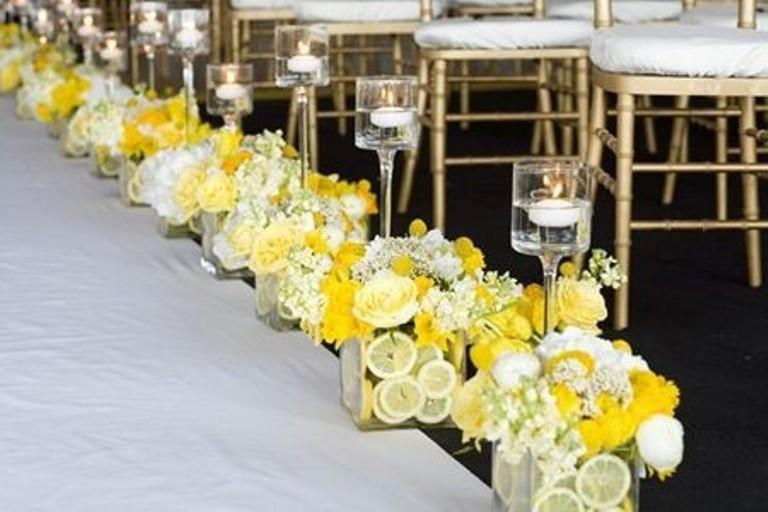 fiori gialli per matrimonio