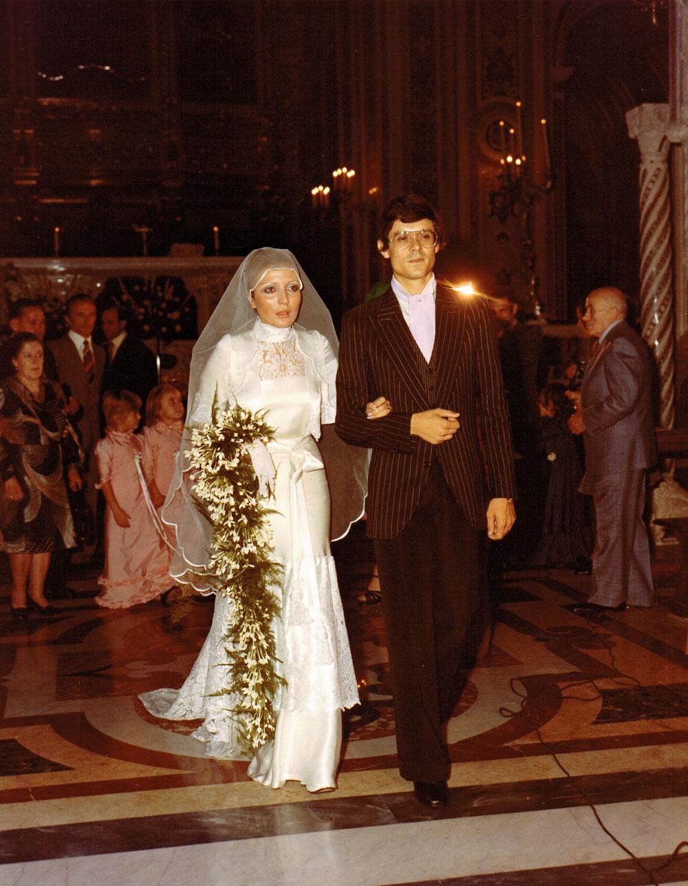 Pinella-Passaro-anniversario-matrimonio-40-anni-bouquet-ombrello
