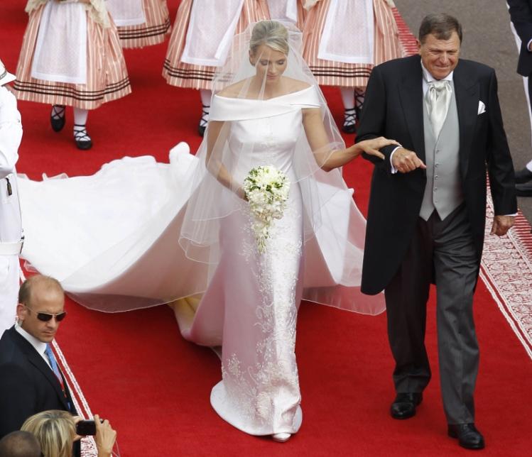 Charlene Wittstock-sposa